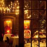 Ghosts lurk behind the restaurant's elegance.