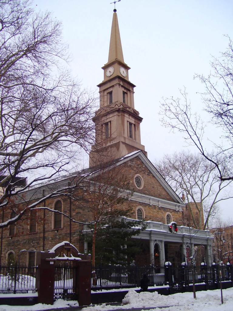 St. Mark's Church In-The-Bowery, Top 10 Haunted Places in NYC