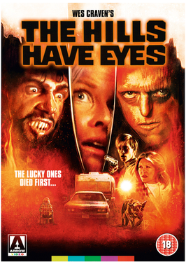Dvd cover of the Hills have eyes