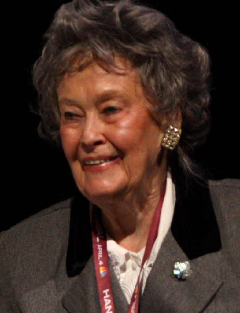 photo is of Lorraine Warren smiling